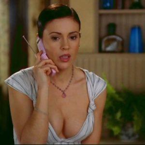 Alyssa Milano leaked naked