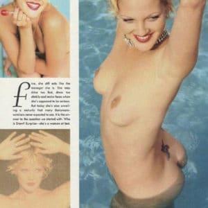 Nude pics of drew barrymore