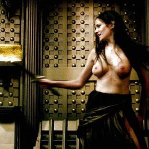 Eva Green undressed
